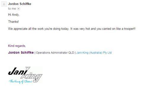 Jordan JaniKing email