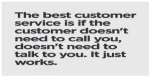 Customer Service Caption