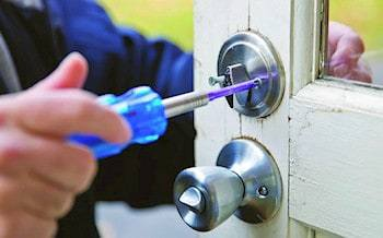 fitting a lock