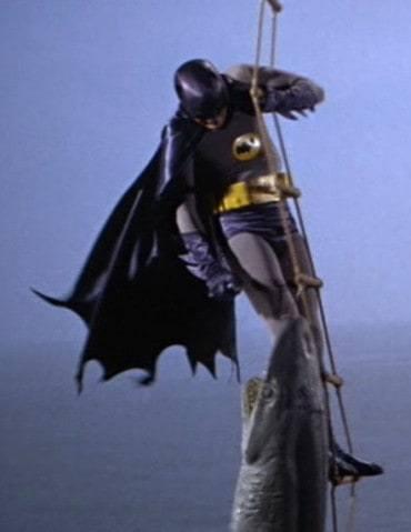 batman shark attack